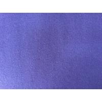 China 390g/M English Wool Fabric Purple Color , Heavy Wool Fabric Super Soft wholesale