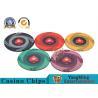 Custom 10g 14g Ceramic Poker Chips 3.3mm Thickness Environmentally Friendly for sale