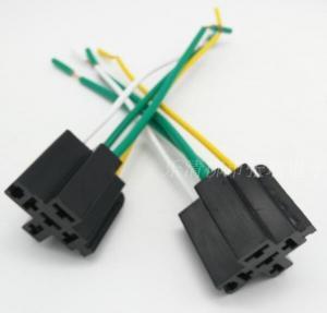 China custom-made  40A  automotive relay socket (with wire) /  Auto socket / universal relay socket. wholesale