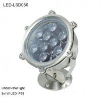 China 9W Revolve angle outside IP68 LED Underwater light for park pool wholesale