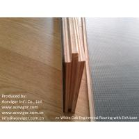 China White Oak Engineered Flooring with EVA back wholesale
