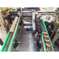 China Electric Driven 2 In 1 Monoblock Aluminum / Tin Can Filling Line With 12 Filling Heads wholesale