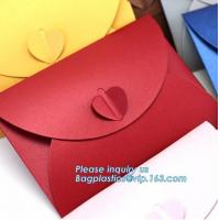 China Matt colorful card paper envelope A4 A5 B5 C5 C6 A3 size with custom logo printing color foil rose gold stamping silver wholesale