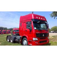 China Sinotruk Howo 6x4 371hp Prime Mover Tractor Truck With Two Sleepers WD615.47 Engine wholesale