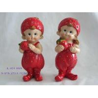 China Polyresin Strawberry Kids,Gifts & Crafts, Home Decoration wholesale