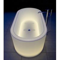 China Swimming pool products plastic LED glow bath wholesale
