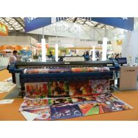 China Flex Banner Printing Large Format Solvent Printer High Speed , Dx5 Print Head wholesale