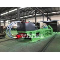 Quality FDY-850 Semi-automatic Hydraulic horizontal baling press manufacturer for sale