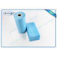 Quality SGS certificate disposable spunbond non woven roll used for bedsheet ,customized Color and size for sale