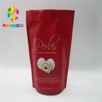 China Ziplock Plastic Pouch Bag Foil Laminated For Coffee / Candy / Dried Fruit wholesale
