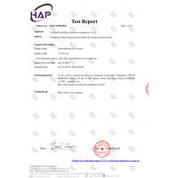 AnPan(Wuxi)Safety Protective Equipment Co;Ltd Certifications