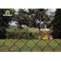 China Diamond Hole Steel Chain Link Fence 50 × 50mm Heat Resistance For Railway Station wholesale