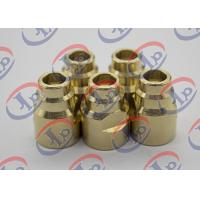 China Durable Brass Joints CNC Turning And Milling Process 14.5mm X 20.5mm Size wholesale