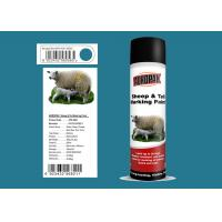 China Sheep And Tail Marking Spray Paint  Blue Color SGS Certification Easy To Use wholesale