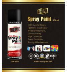 China Odourless Aerosol Spray Paint 10oz Rich Metallic Finish Interior Exterior wholesale
