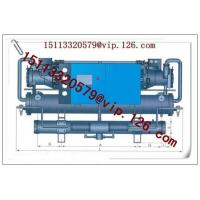 China China Water-cooled Central Water Chillers Manufacturer-Two Compressors-R22 wholesale