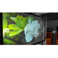 China Transparent Touch holographic rear projection film Vinyl Fabric Lamination wholesale