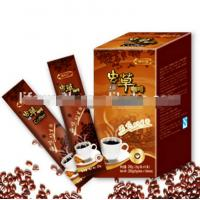 China Instant coffee with cordyceps Sinensis Mycelium extracts energy new premium slimming coffee ground on sale