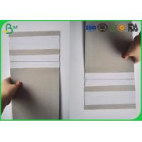 China One Side Coated White Color Duplex Board 350gsm for Packing Box wholesale