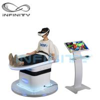 Buy cheap Customized Color 9D Virtual Reality Simulator With DPVR E3 2K Glasses from wholesalers