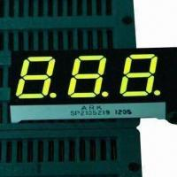 China 7 Segment LED Display, 0.52 Inch Digits, Available in Green, for Controller wholesale