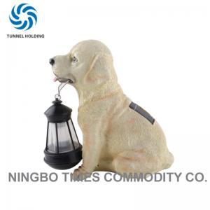 China Fashion Outdoor Solar Dog Lights , Animal Solar Lights For Garden Lighting wholesale