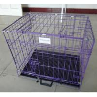 China Black Cheap Poultry farming equipment metal large steel iron dog cage(Whatsapp +86 13331359638) wholesale