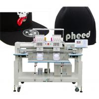 China twin heads cap computerized embroidery machine on sale