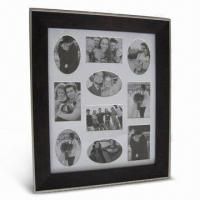 China Plastic Photo Frame, Available in Various Sizes and Colors wholesale