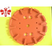 China Silver Brazed Diamond Cutting Blade , Grinding Head  Diamond Cup Wheel  Floor Grinding Plate wholesale