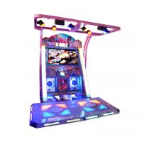 China 55 Inch Music Dancing Redemption Game Machine Iron Box Material wholesale