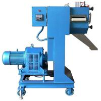 China Low Noise Plastic Pellet Extruder Machine / Granulation Equipments For Waste Filament Cutting System wholesale