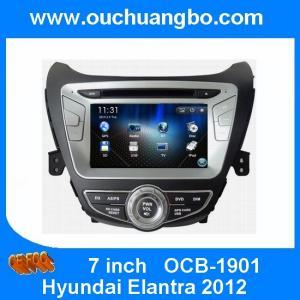 China Ouchuangbo car Stereo Radio GPS Sat Nav Player for Hyundai Elantra 2012 USB SD Canada map on sale