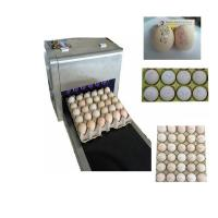 China Six Nozzles At The Same Time Printing High Efficiency Eggs Ink-Jet Printing Machine wholesale