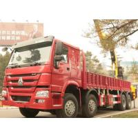 China SINOTRUK HOWO Truck Mounted Crane / Truck Mounted Jib Crane For Construction on sale