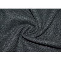 China Woven Technics Tweed Wool Fabric 10% Wool For Autumn / Winter OEM Accepted wholesale