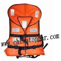 China Marine lifejacket,lifebuoy, immersion suit,thermal protective aid, smoke signal,pilot rope ladder wholesale