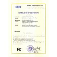 Shenzhen Maysee Technology Ltd Certifications