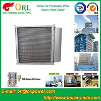 China Hot Water CFB Boiler APH , Combustion Air Preheater In Steam Power Plant wholesale
