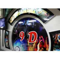China Beautiful 5D Movie Theater With Motion Chair , Digital Control System wholesale
