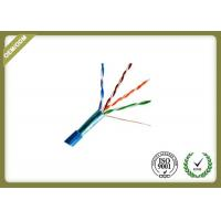 Buy cheap Cat5e FTP/ STP Network Fiber Cable , Shielded Twisted Pair Ethernet Cable from wholesalers