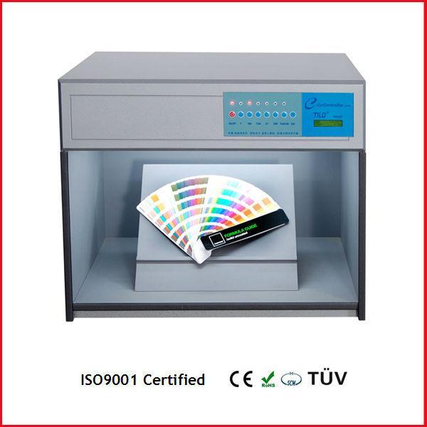 textile color inspection box