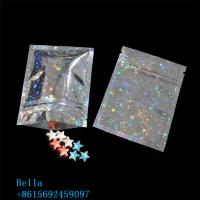 China Zipper Powder Foil Packaging Bags Small Size Three Side Seal For Herbal And Tea wholesale
