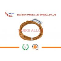 Quality Blank K Type Thermocouple Wire With Fiberglass For Homogenizing Furnaces To Preheat Billets for sale