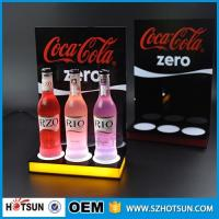 Quality Shenzhen supplier Free design LED acrylic display for wine acrylic products manufacture for sale