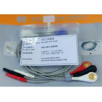 Quality Din 3 leads ECG Leadwires medical equipment Accessories , Holter ECG Cable for sale