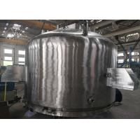 China No Pollution Agitated Nutsche Filter Dryer Three In One Machine Solid Liquid Separation wholesale