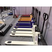 Buy cheap 2000kg to 5000kg Pneumatic Hand Pallet Truck With PU Or Nylon Wheel from wholesalers