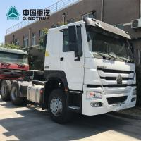 China Prime Mover Trailer / Shipping Container Truck 24V Voltage Electric System wholesale