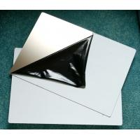 China A4 310*480mm Size Mirror / Matt Stainless Steel Plate PVC Card Material wholesale